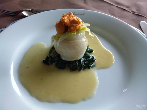 洋風レストラン菊水の魚料理