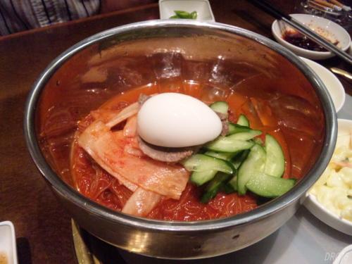 横浜福富町の将軍の冷麺