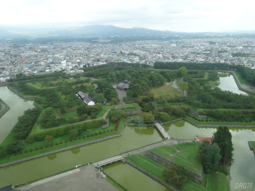 函館五稜郭を観光