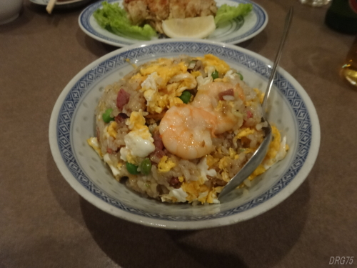 留仙閣の炒飯