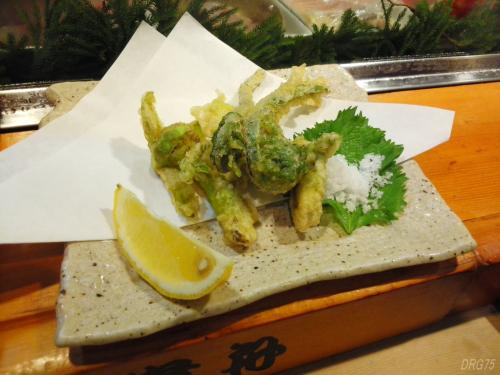 横浜の貴舟寿司の天ぷら
