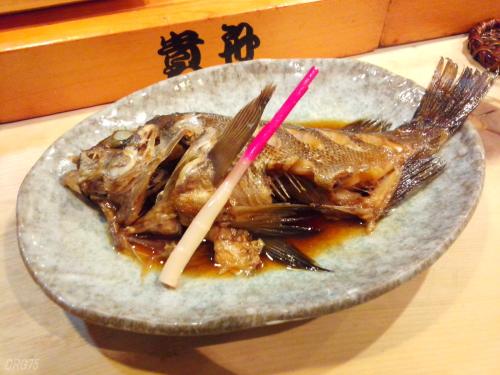 横浜の貴舟寿司の煮魚