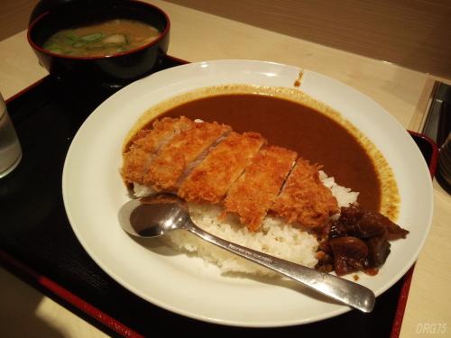 松乃屋カツカレー