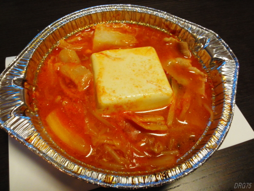 セブンイレブン豚肉と豆腐のチゲ