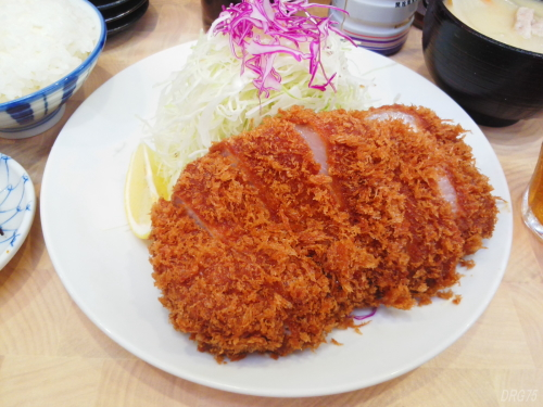とんかつ檍ロースカツ定食