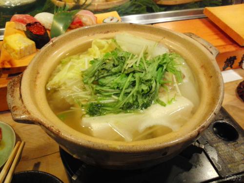 貴舟寿し湯豆腐