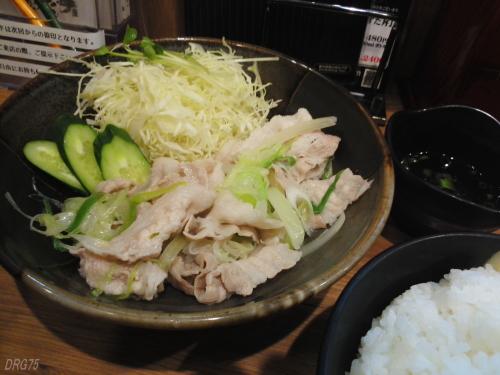伝説のすた丼の豚しゃぶ定食
