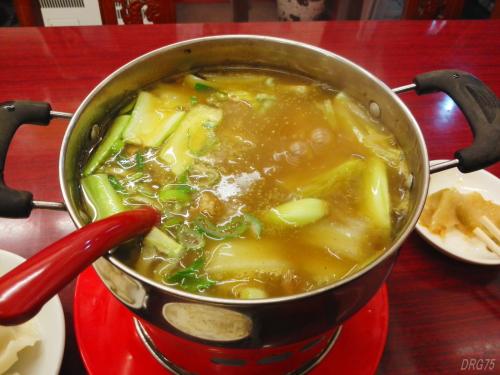 馬さんの店龍仙のカレー鍋