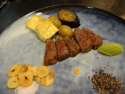 モーリヤ神戸牛鉄板焼き