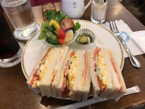 馬車道十番館サンドイッチ