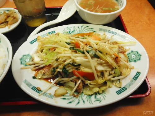 日高屋野菜炒め