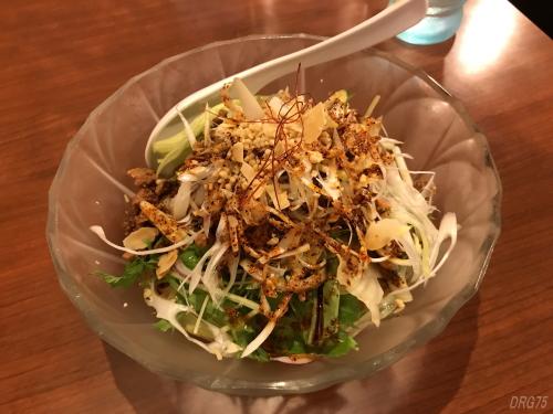 横浜野毛の天府の冷やし坦々麺