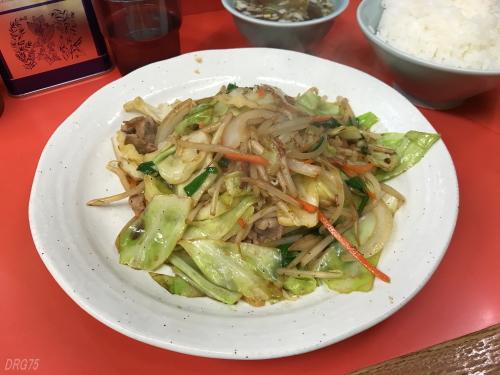 横浜の大和家の野菜炒め