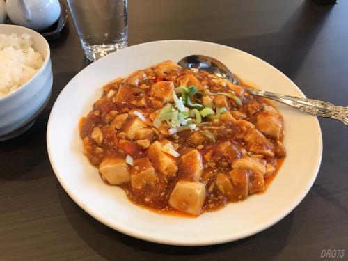 井土ヶ谷チャイナ飯店の麻婆豆腐
