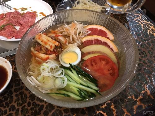 横須賀の韓一館の冷麺
