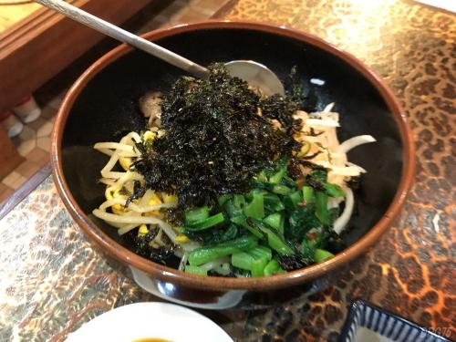 横須賀の韓一館ビビンバ