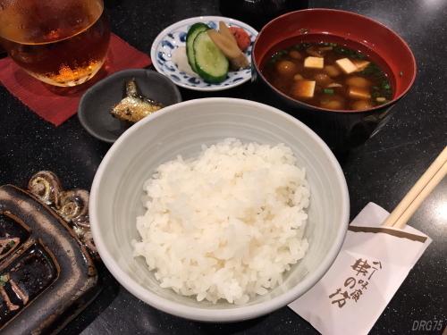 串の坊食事セット