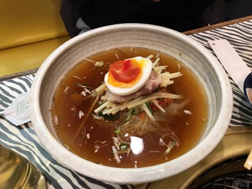 関内苑の冷麺
