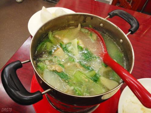 馬さんの店龍仙の豚肉鍋