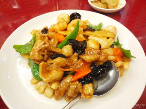 馬さんの店龍仙の八宝菜