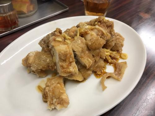 横浜中華街の上海飯店の唐揚げ