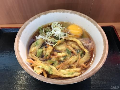 川崎立ち食い蕎麦新八の天ぷら蕎麦