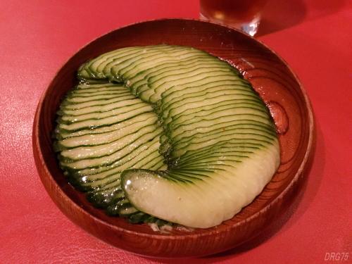 六本木シシリアのきゅうりグリーンサラダ