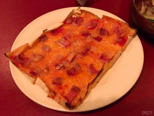 六本木シシリアのピザ