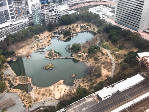 東京會舘レインボー近くの旧芝離宮恩賜庭園