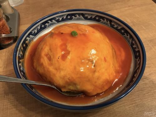 餃子センター興記の天津飯