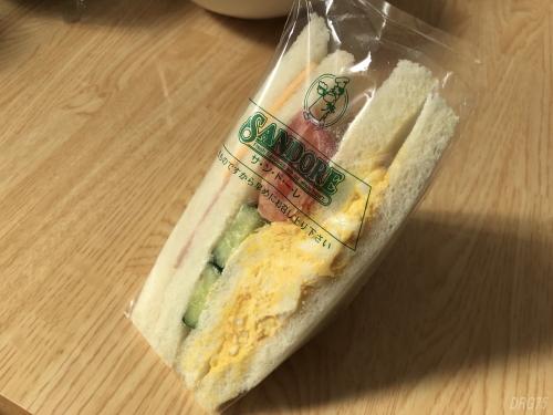 弘明寺サンドーレのサンドイッチ