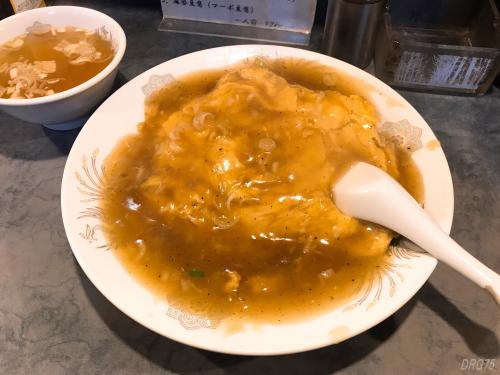 南蒲田の鳳林園の天津飯