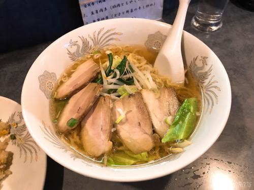 南蒲田の鳳林園の叉焼麺