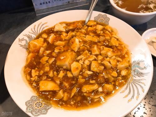 鳳林園の麻婆豆腐