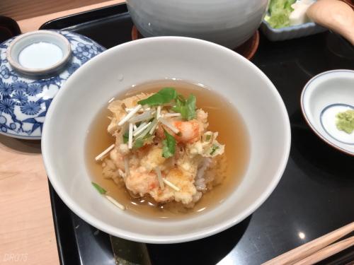 天ぷら近藤の天茶