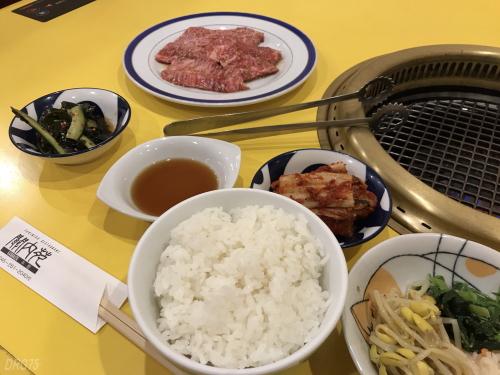 関内苑カルビ定食