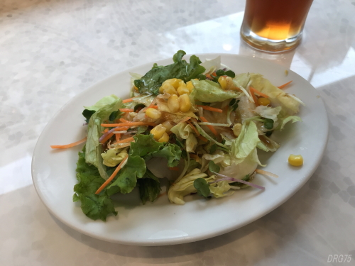ラパウザのランチサラダ