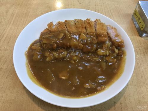 蒲田の松家カツカレー