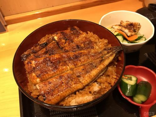 天理の鰻みしまや特上丼