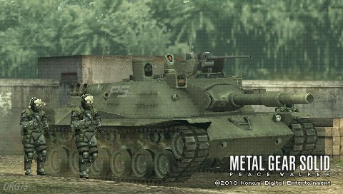 PSPメタルギアソリッドピースウォーカー